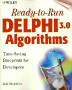Ready-to-Run Delphi 3.0 Algorithms